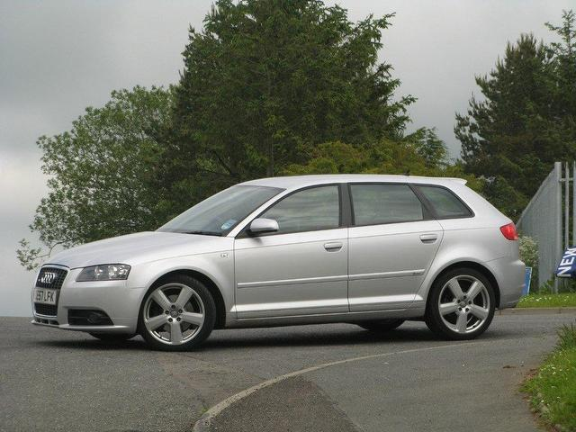 used audi a3 2 0 2007 diesel tdi 170 quattro hatchback silver manual for sale in turrif uk. Black Bedroom Furniture Sets. Home Design Ideas