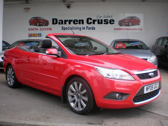 - Used_Ford_Focus_2008_Red_Convertible_Diesel_Manual_for_Sale_in_Kent_UK