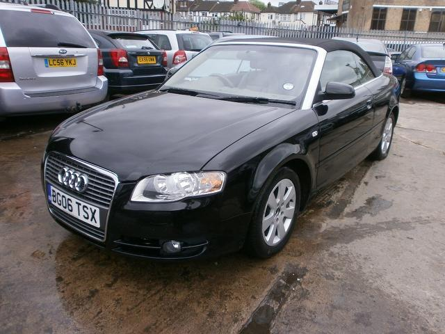 Used 2006 Audi A4 Convertible 2 0 Tdi 2dr Diesel For Sale border=