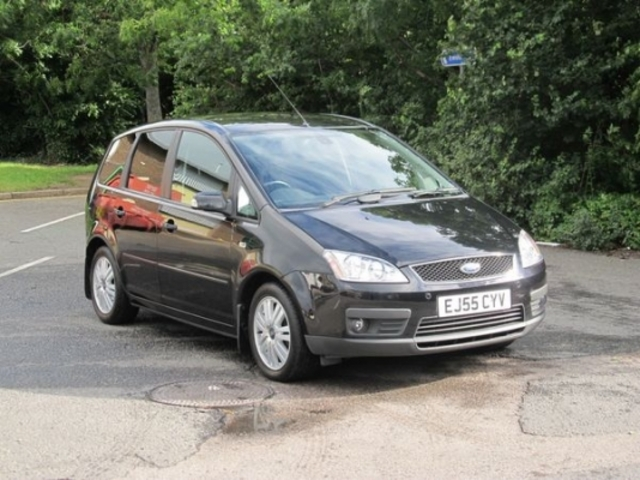 used ford focus 2005 diesel c max black automatic for sale in epsom uk autopazar. Black Bedroom Furniture Sets. Home Design Ideas