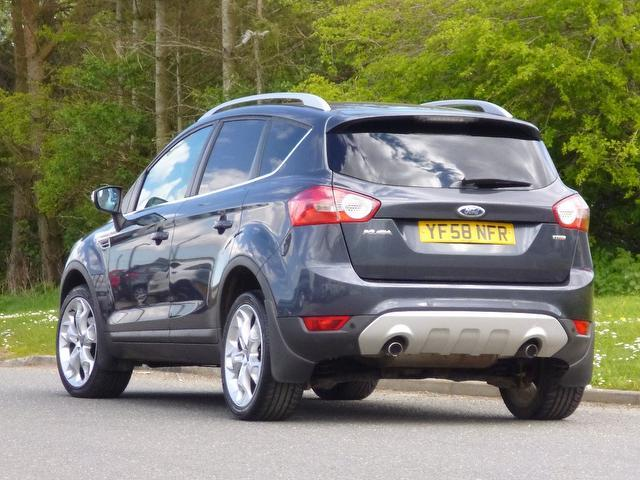 used ford kuga car 2008 grey diesel 2 0 tdci titanium 5 door estate for sale in turrif uk. Black Bedroom Furniture Sets. Home Design Ideas