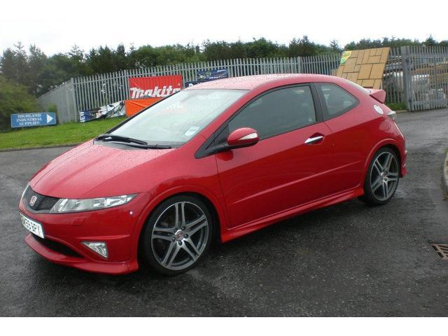 used honda civic 2009 petrol 2 0 i vtec type r hatchback red manual for sale in turrif uk. Black Bedroom Furniture Sets. Home Design Ideas