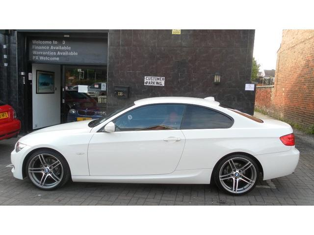 used 2010 bmw 3 series coupe white edition 320d m sport. Black Bedroom Furniture Sets. Home Design Ideas
