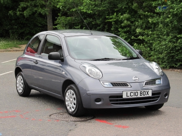 Used Nissan Micra 2010 Grey  Petrol Manual for Sale