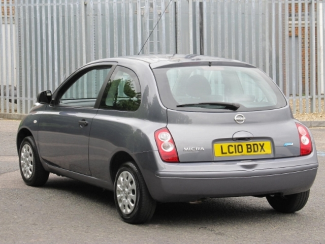 Used Nissan Micra  Grey 2010 Petrol for Sale in UK