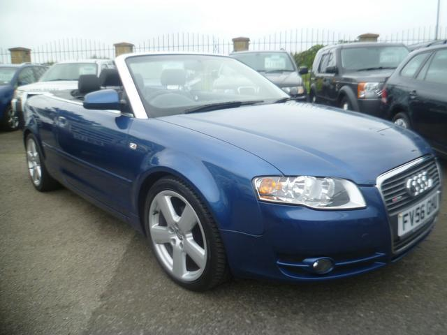 used audi a4 car 2006 blue diesel 2 0 tdi s line convertible for sale in penzance uk autopazar. Black Bedroom Furniture Sets. Home Design Ideas