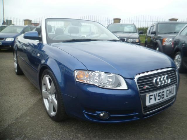 used audi a4 car 2006 blue diesel 2 0 tdi s line. Black Bedroom Furniture Sets. Home Design Ideas