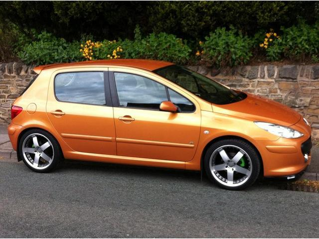 used peugeot 307 2006 manual diesel 1 6 hdi 90 se orange. Black Bedroom Furniture Sets. Home Design Ideas