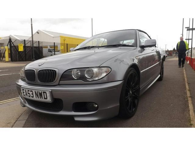 used 2003 bmw 3 series convertible 320 ci sport petrol for sale in portsmouth uk autopazar. Black Bedroom Furniture Sets. Home Design Ideas