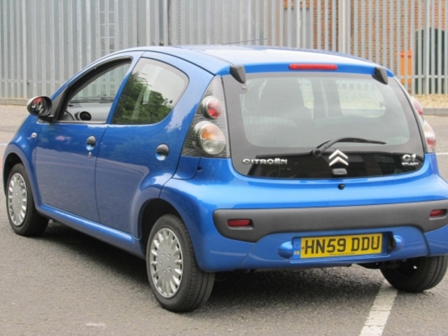 used citroen c1 2009 manual unleaded blue for sale uk autopazar. Black Bedroom Furniture Sets. Home Design Ideas