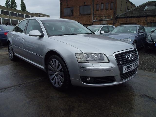 Used Audi A8 2005 Silver Saloon Diesel Automatic for Sale