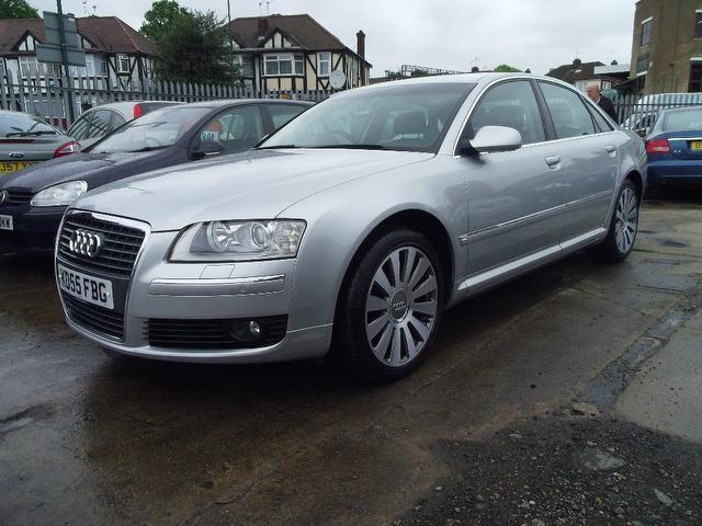 Used Audi A8 3.0 Tdi Quattro Se Saloon Silver 2005 Diesel for Sale in UK