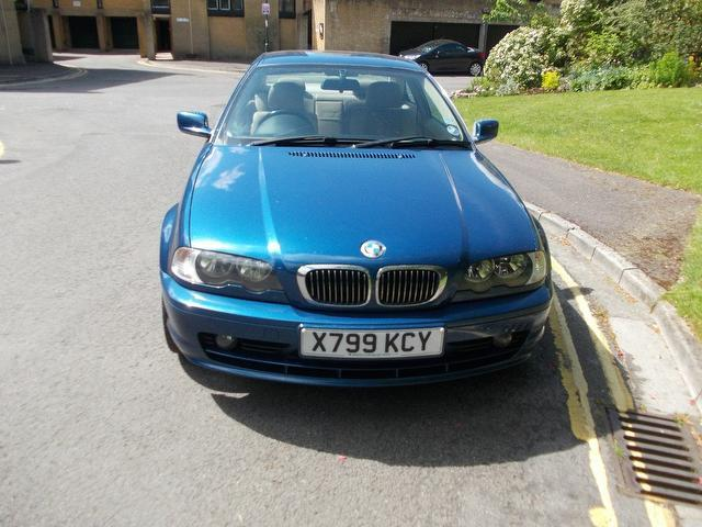 used blue bmw 3 series 2000 petrol 320 ci se coupe in great condition for sale autopazar. Black Bedroom Furniture Sets. Home Design Ideas
