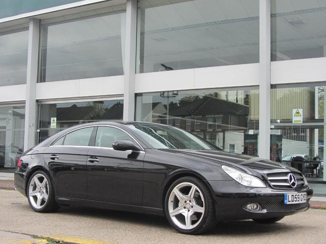 Used 2009 mercedes benz saloon black edition cls350 cgi for Mercedes benz uk used