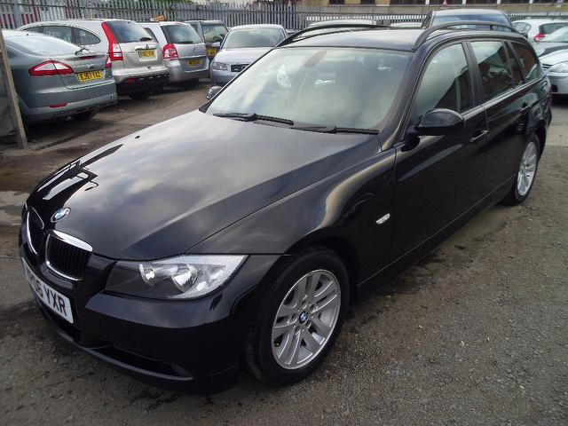 used bmw 3 series 2006 black colour diesel 320d se 5 door estate for sale in wembley uk autopazar. Black Bedroom Furniture Sets. Home Design Ideas