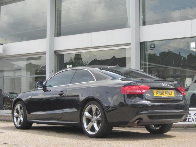 used audi a5 2010 black colour diesel 2 7 tdi s line coupe for sale in sevenoaks uk autopazar. Black Bedroom Furniture Sets. Home Design Ideas