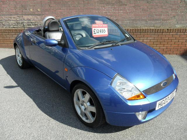 used ford streetka 2003 for sale uk autopazar. Black Bedroom Furniture Sets. Home Design Ideas