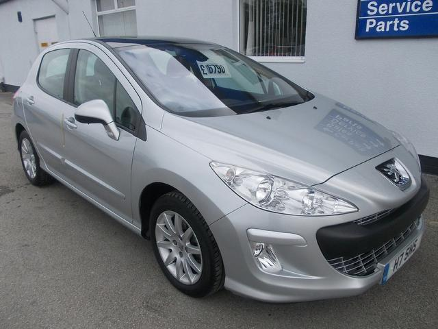 used 2008 peugeot 308 hatchback 1 6 thp se 5dr petrol for. Black Bedroom Furniture Sets. Home Design Ideas
