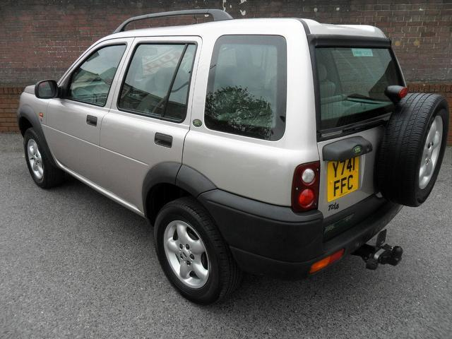 used land rover freelander 2001 silver colour diesel 2 0 td4 s 4x4 for sale in southampton uk. Black Bedroom Furniture Sets. Home Design Ideas
