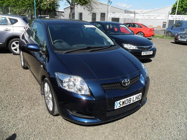 second hand toyota auris for sale uk autopazar. Black Bedroom Furniture Sets. Home Design Ideas