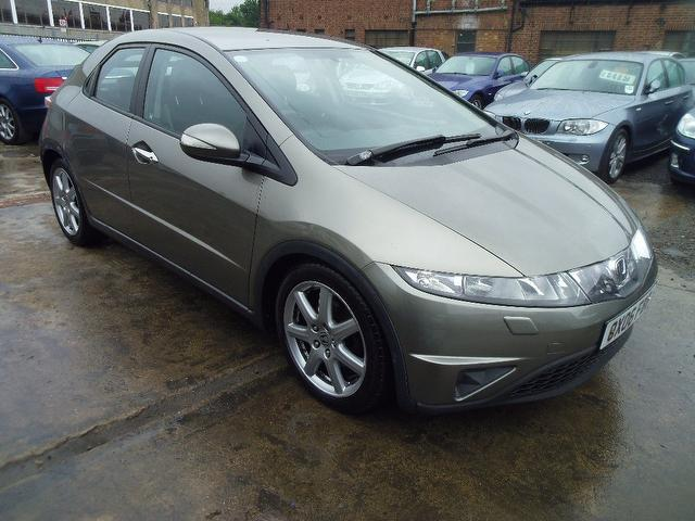 used honda civic 2006 diesel 2 2 i ctdi sport 5dr hatchback grey edition for sale in wembley uk. Black Bedroom Furniture Sets. Home Design Ideas