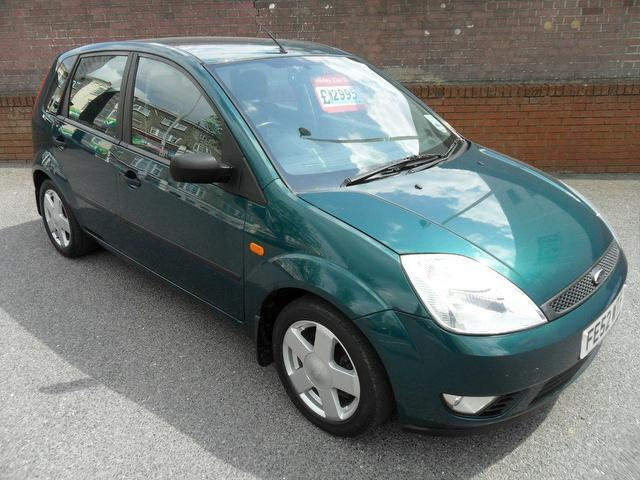 Used Cars For Sale Under 3000 >> Used Ford Fiesta 2002 Petrol 1.4 Zetec 5dr Full Hatchback Green With Radio/cd Player For Sale ...