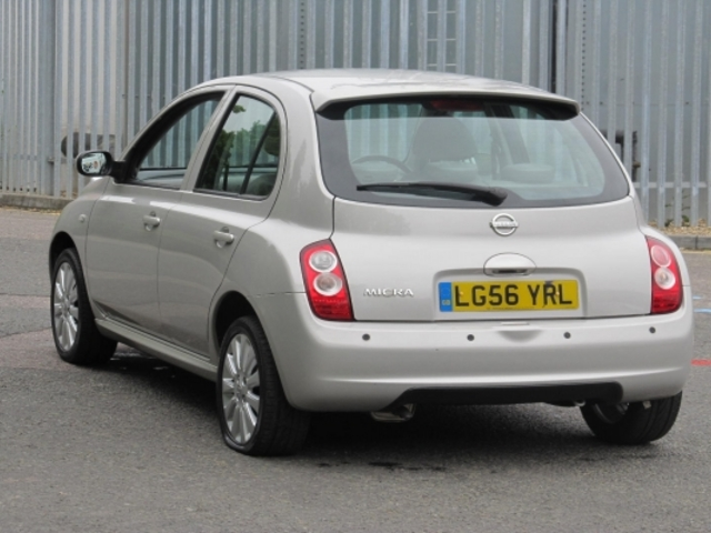 Used Nissan Micra  Silver 2006 Petrol for Sale in UK