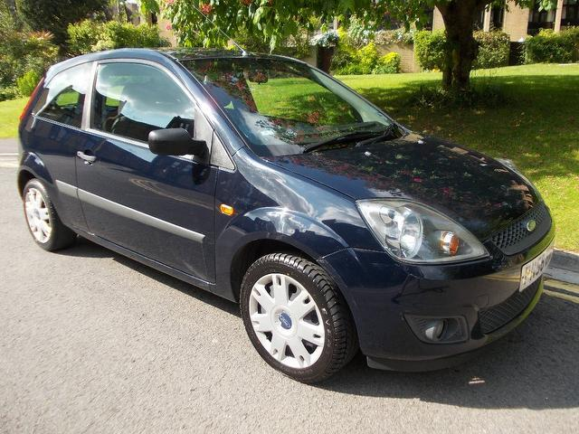 used ford fiesta 2006 blue colour petrol style 3 door. Black Bedroom Furniture Sets. Home Design Ideas