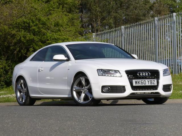 Used white audi a5 2010 diesel 3 0 tdi quattro s coupe in great condition for sale autopazar - White audi a5 coupe for sale ...