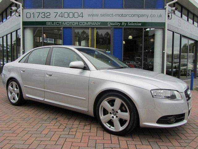 used audi a4 2 7 2007 diesel tdi s line saloon silver automatic for sale in sevenoaks uk autopazar. Black Bedroom Furniture Sets. Home Design Ideas
