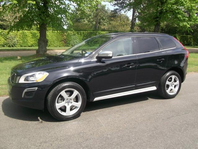 used volvo xc60 2012 model d3 163 r design diesel estate black for sale in newmarket uk. Black Bedroom Furniture Sets. Home Design Ideas