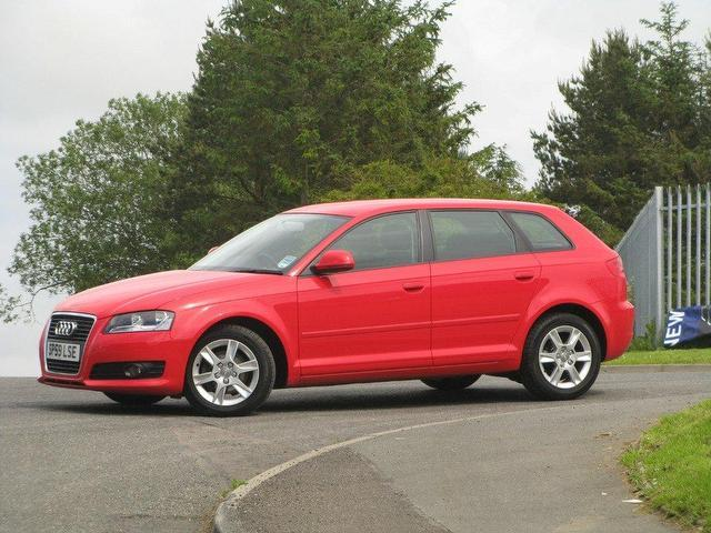 used audi a3 2 0 2009 diesel tdi 5dr hatchback red manual for sale in turrif uk autopazar. Black Bedroom Furniture Sets. Home Design Ideas