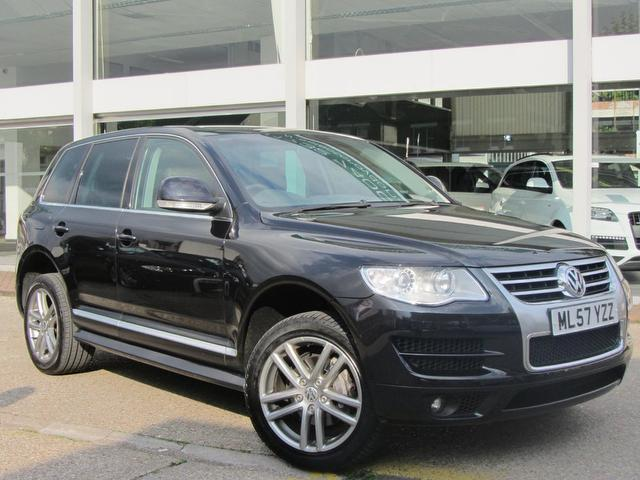 used volkswagen touareg 2007 diesel 3 0 v6 tdi altitude. Black Bedroom Furniture Sets. Home Design Ideas