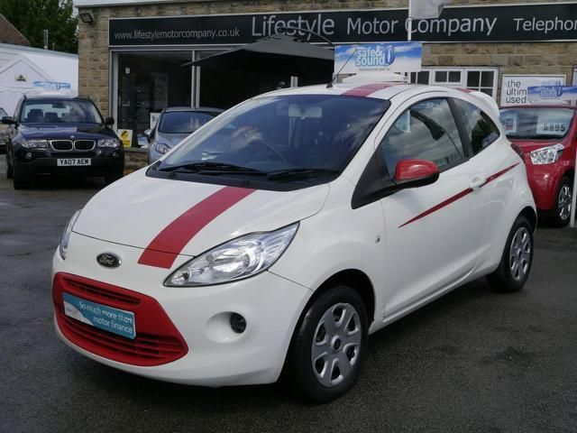 used ford ka 2010 petrol 1 2 edge 3dr hatchback white edition for sale in wakefield uk autopazar. Black Bedroom Furniture Sets. Home Design Ideas