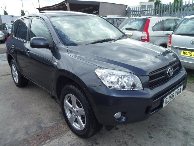 used toyota rav4 car 2007 grey diesel 2 2 d 4d xt4 5 door 4x4 for sale in wembley uk autopazar. Black Bedroom Furniture Sets. Home Design Ideas