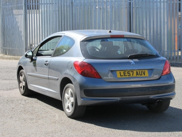 Used Peugeot 207  Iron Grey 2008 Petrol for Sale in UK
