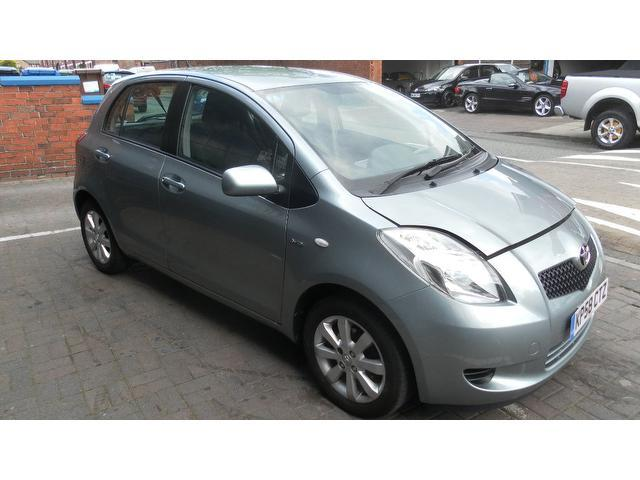 used toyota yaris 2008 model 1 4 d 4d tr 5dr diesel hatchback grey for sale in stockport uk. Black Bedroom Furniture Sets. Home Design Ideas