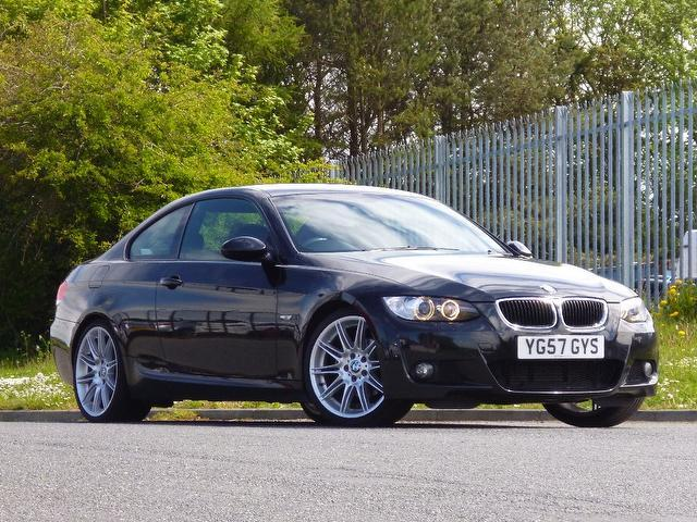Used bmw 3 series 2007 diesel 320d m sport coupe black - Bmw 3 series m sport coupe ...