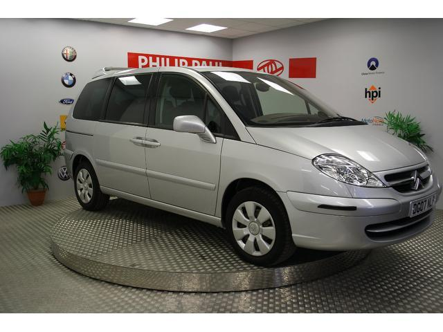 used citroen c8 2007 diesel 2 0 hdi 16v sx estate silver edition for sale in oswestry uk autopazar. Black Bedroom Furniture Sets. Home Design Ideas