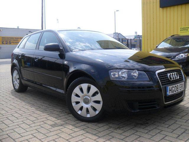 used audi a3 2008 manual diesel 1 9 tdi special edition black for sale uk autopazar. Black Bedroom Furniture Sets. Home Design Ideas