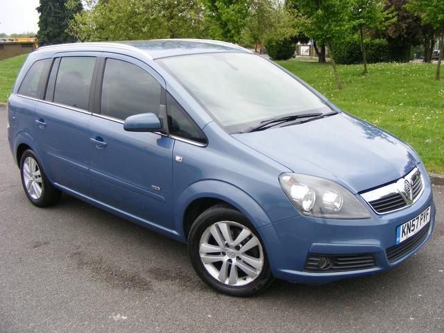 used vauxhall zafira for sale in london uk autopazar. Black Bedroom Furniture Sets. Home Design Ideas