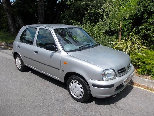 used 2002 nissan micra hatchback silver edition 1 0 profile 5dr petrol for sale in keynsham uk. Black Bedroom Furniture Sets. Home Design Ideas