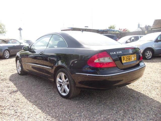 used mercedes benz 2006 diesel 220 cdi avantgarde 2dr coupe black edition for sale in nuneaton. Black Bedroom Furniture Sets. Home Design Ideas