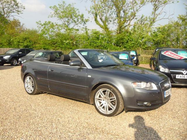 used audi a4 2007 automatic petrol 3 2 fsi s line grey for sale uk autopazar. Black Bedroom Furniture Sets. Home Design Ideas