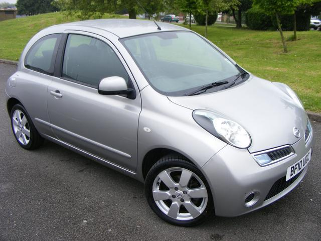 used 2010 nissan micra hatchback silver edition 1 2 acenta 3dr auto petrol for sale in wembley. Black Bedroom Furniture Sets. Home Design Ideas