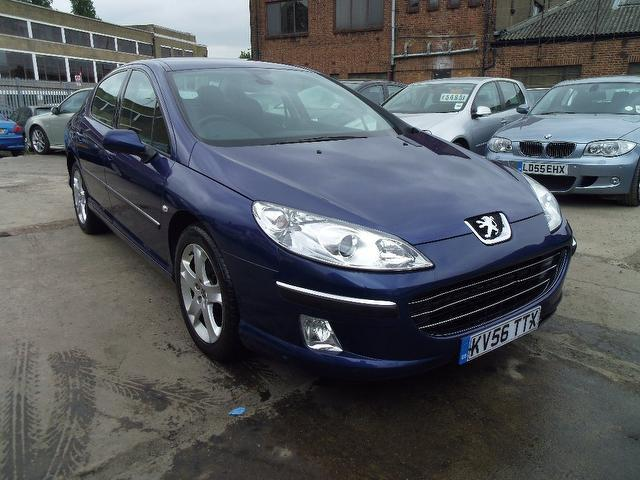 Used Peugeot 407 2006 Blue Saloon Diesel Manual for Sale
