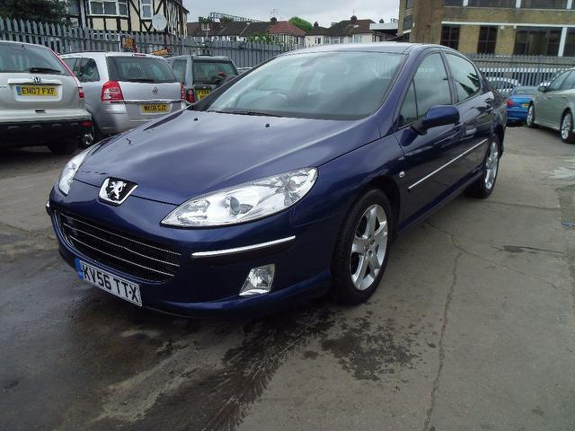 used peugeot 407 2006 blue colour diesel 2 0 hdi 136 se saloon for sale in wembley uk autopazar. Black Bedroom Furniture Sets. Home Design Ideas