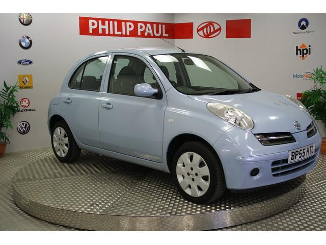 used nissan micra 2006 blue colour petrol 1 2 se 5 door hatchback for sale in oswestry uk. Black Bedroom Furniture Sets. Home Design Ideas