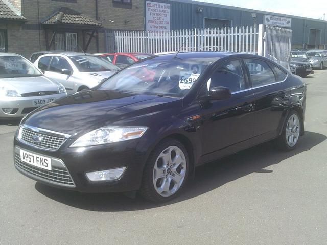 used black ford mondeo 2007 diesel 2 0 tdci titanium x hatchback in rh autopazar co uk ford mondeo 2007 owners manual pdf ford mondeo 2007 manual