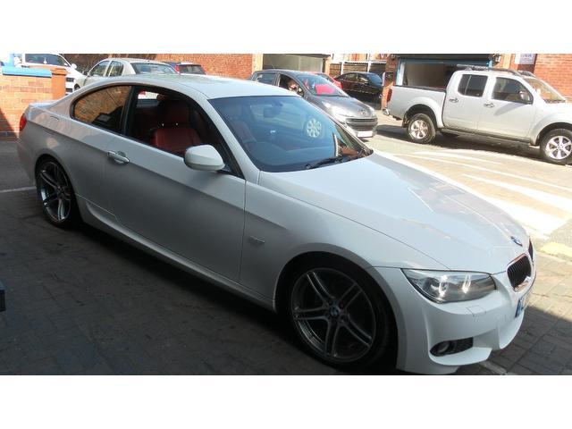 Used bmw 3 series 2010 diesel 320d m sport coupe white - Bmw 3 series m sport coupe ...